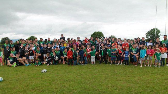 Connacht Receive Huge Welcome In Ballinrobe