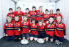 The Ballyclare squad at the Aviva Rugby Festival, which was enjoyed by players, coaches, parents and spectators