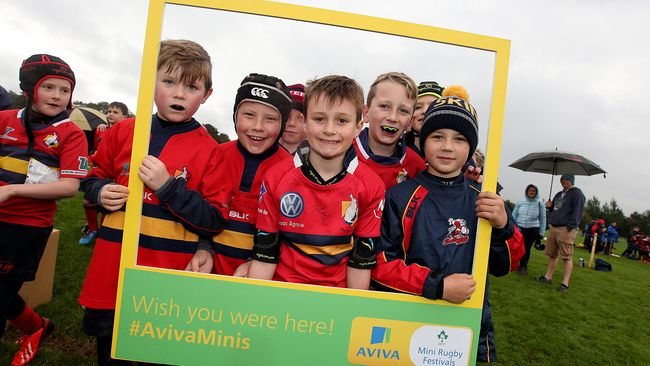 Aviva Mini Rugby Festivals Kick Off This Weekend