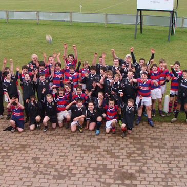The Ballymena and Clontarf Under-14s