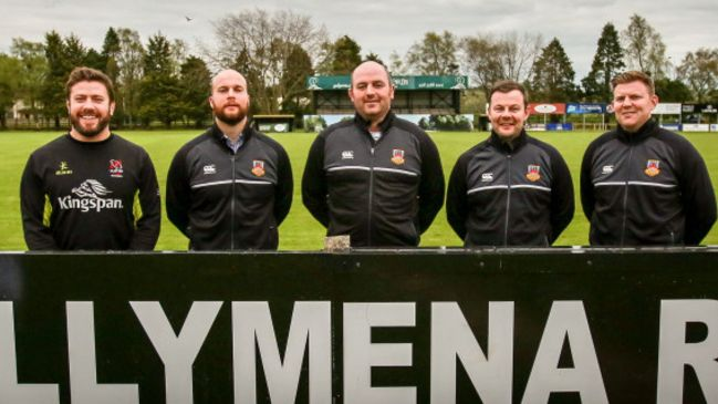 McCloy Returns To Hometown Club As Part Of Ballymena Coaching Team