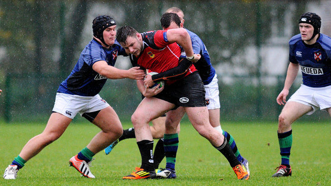 Ballymena take on Queens in the Ulster Bank League