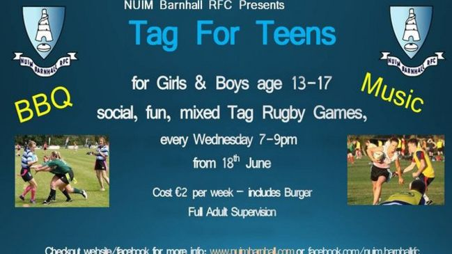 All are welcome at 'Tag for Teens'