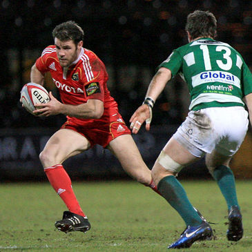 Munster's Barry Murphy in action against Nottingham