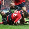 Barry Murphy beats the Montauban cover to score his first Heineken Cup try in almost two years