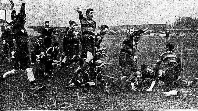 Instonians beat Lansdowne in the 1927 Bateman Cup final