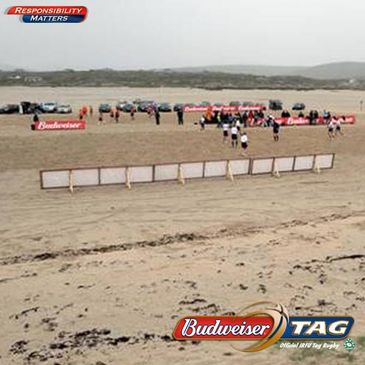 The Budweiser Beach Tag bandwagon rolls on to Cork