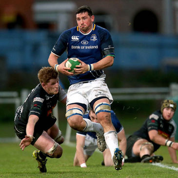 Ben Marshall in action for the Leinster 'A' team