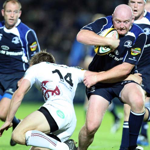 Bernard Jackman in action against the Ospreys