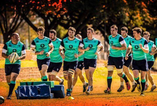Tour Diary - Team Announcement 2 : Irish Rugby