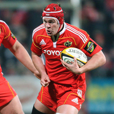 Munster lock/flanker Billy Holland