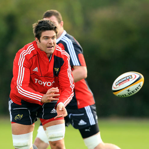 Munster Squad Training At UL, Tuesday, October 19, 2010