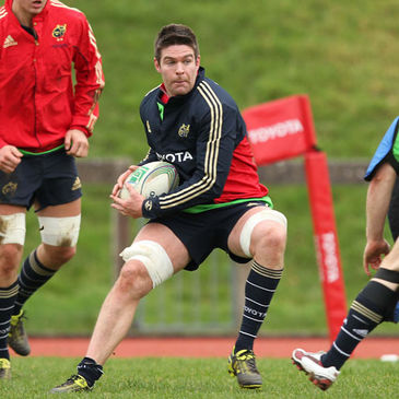 Versatile Munster forward Billy Holland