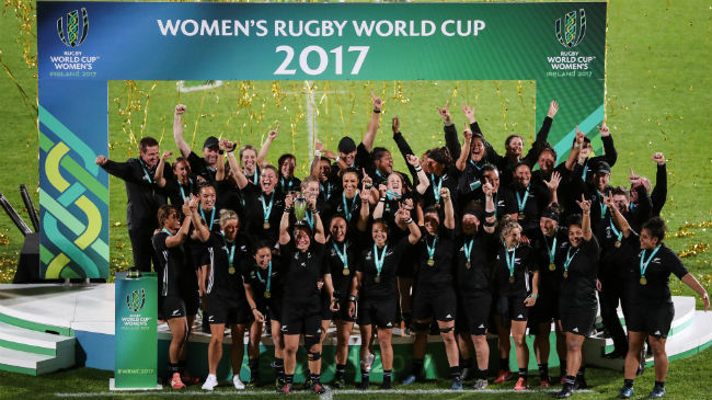 Women's Rugby World Cup Wins 'Best Sports Event' Award