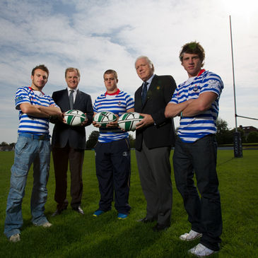 Hugo MacNeill and Fergus Slattery launched the tournament