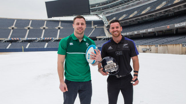 Tickets On Sale For Ireland v New Zealand In Chicago