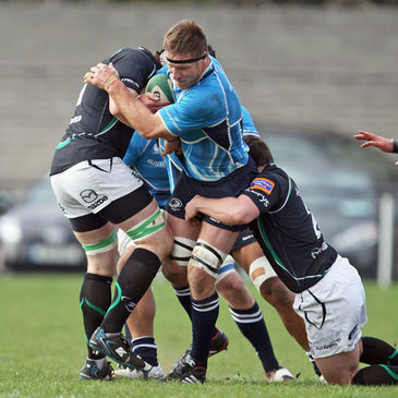All Black Brad Thorn had his first outing in Leinster colours