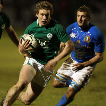 Brendan Macken on the charge against Italy
