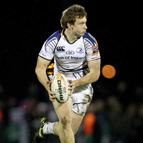 Leinster centre Brendan Macken