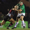 Connacht prop Brett Wilkinson got a chance to stretch his legs early on, gaining ground on the right wing