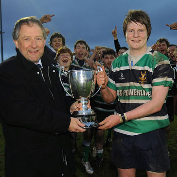 Ballynahinch won the Under-18 Floodlit Cup