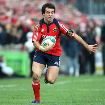 Brian Carney in action for Munster