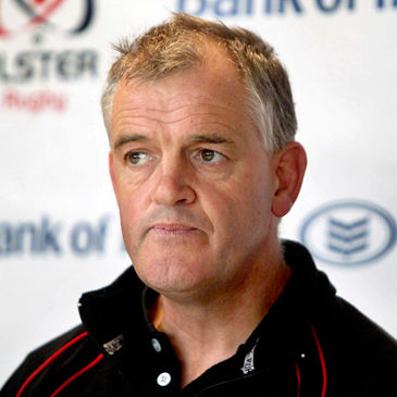 Ulster head coach Brian McLaughlin