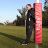 Ulster head coach Brian McLaughlin surveys the scene at Newforge as his players go through their paces