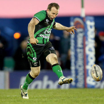 Connacht centre Brian Murphy