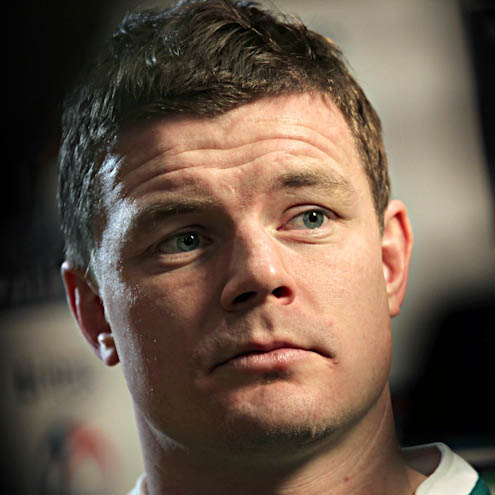Leinster and Ireland's Brian O'Driscoll