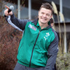 Ireland captain Brian O'Driscoll enjoyed himself as the squad belted out Christy Moore's 'Ride On' after being invited to sing