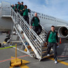 Brian O'Driscoll and the rest of the Ireland travelling party touched down on New Zealand soil at around 3pm local time/4am Irish time on Thursday