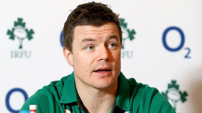 Ireland's legendary outside centre Brian O'Driscoll