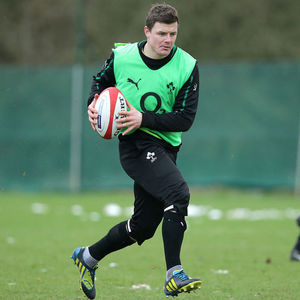 Ireland Squad Training Session At Carton House, Maynooth, Monday, January 21, 2013
