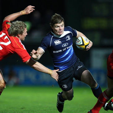 Brian O'Driscoll in action against Munster last October
