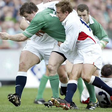 Brian O'Driscoll and Jonny Wilkinson played in the 2003 match