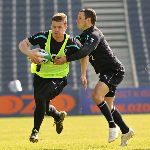 Ireland Squad Training At The RDS, Wednesday, March 16, 2011
