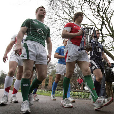 Will Brian O'Driscoll or Ryan Jones be lifting the RBS 6 Nations trophy this weekend?