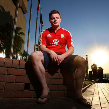 Brian O'Driscoll will captain the Lions for Wednesday's tour match
