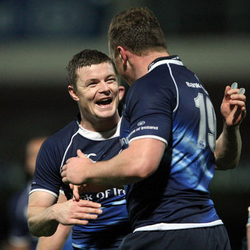 Brian O'Driscoll will start for Leinster against Connacht