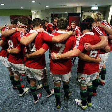 The Lions are gearing up for the first Test
