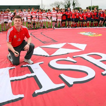 HSBC Cubs, this is your chance to train with Brian O'Driscoll and the Lions