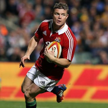 Brian O'Driscoll will captain the Lions on Tuesday