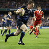 Sean O'Brien popped a terrific pass for the supporting Brian O'Driscoll to raid in from the right wing