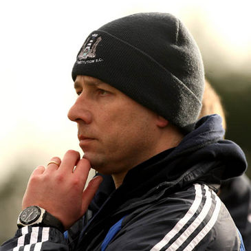 Cork Constitution coach Brian Walsh