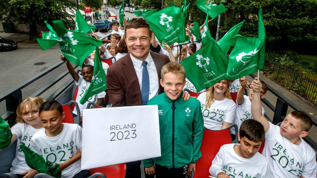 Irish Rugby TV: Ireland 2023 Bid Submission A 'Momentous Day'
