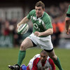 Brian O'Driscoll charges forward