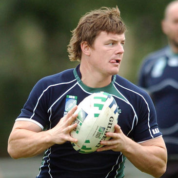 Leinster and Ireland captain Brian O'Driscoll