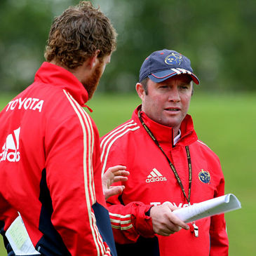 Munster's Bryce Cavanagh and Tony McGahan
