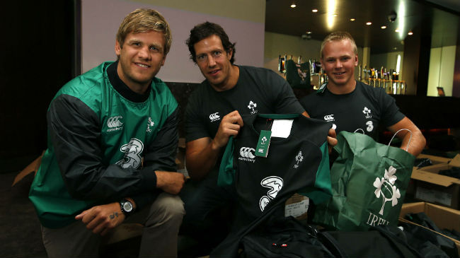 New Ireland Training Kit Kicks Off Canterbury Partnership